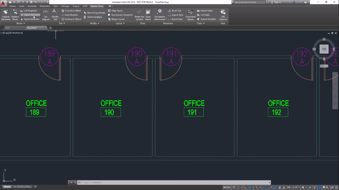 Updating AutoCAD Block Attributes using Microsoft Excel